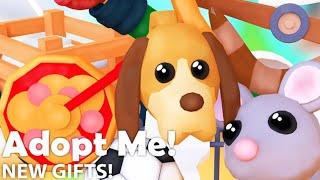 REGALANDO PETS EN ADOPT ME ROBLOX!!! :DD