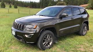 2016 Jeep Grand Cherokee Limited 75th Two Year Review