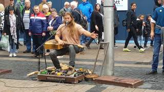 Malachy (from Oisin & Malachy) busking in Belfast. If you like this then check out my other videos