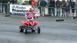 Quad Bike Stunts Santa pod 11 April