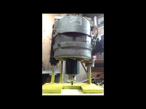 Это круто. Как сделать МОЩНЫЙ фрезер из мотора от стиралки своими руками.