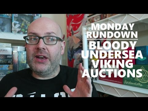 Monday Rundown - Bloody Undersea Viking Auctions!