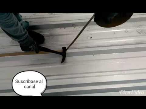 Butyl tape install metal roof Easy