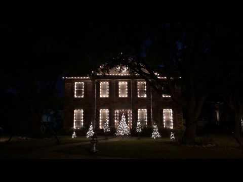 Light of Christmas (Owl City Feat. TobyMac) Christmas Light Show by Dennington Decor
