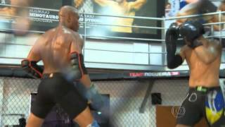 Anderson 'The spider' Silva - KO Sparring partner -  Sparring session