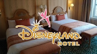 Disneyland Hotel – Tour of a Standard Room – Disneyland Paris Hotels – Full HD Video