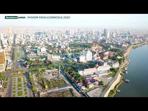 Phnom Penh CiTY 2020 /DRONE DJI/Sky View