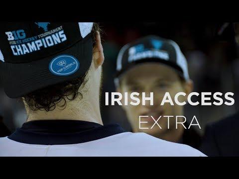Irish Access Extra | @NDHockey vs. Ohio State, Big Ten Conference Final (2018)