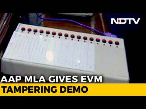 AAP Demonstrates 'How To Rig' A Vote Machine (EVM)