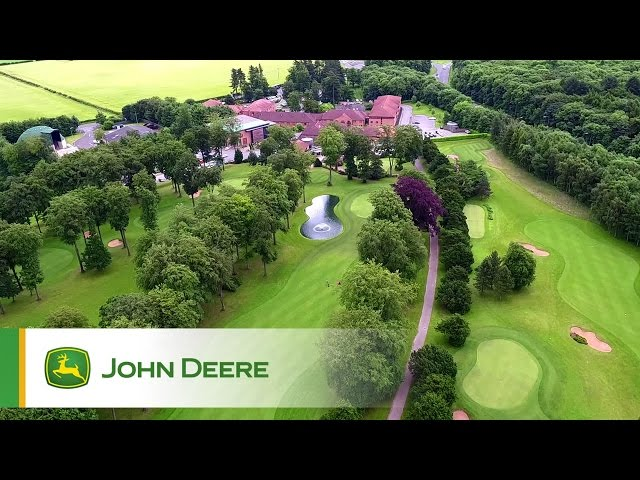 John Deere Golf products - Testimonial by David Norton, Forest Pines, Lincolnshire