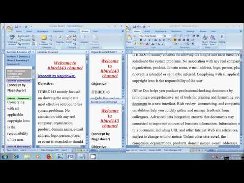 Word 2007: How To Combine Multiple Documents Into One In Word