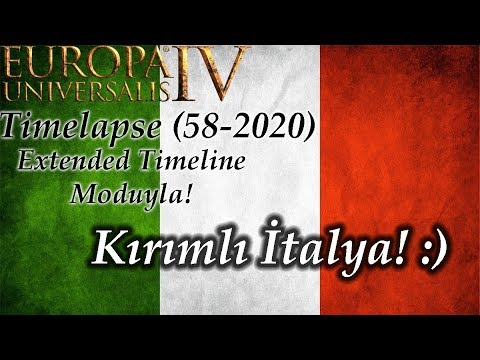 Kırımlı İtalya! | Europa Universalis 4 | Timelapse - 4 (58-2020)