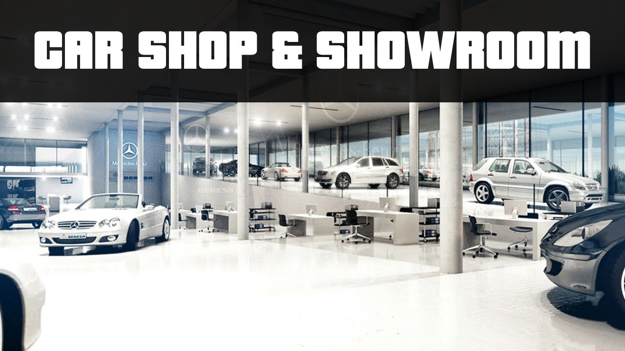 Car Shop Amp Showroom Gta 5 Pc Mods Youtube