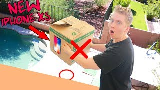 DO NOT DROP THE WRONG Mystery Box! My iphone xs was in there?!?