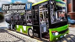 BUS SIMULATOR 18 MP #4: Die schlimmsten BUSFAHRER reloaded - Unfälle und Stau | BUS SIMULATOR 2018
