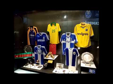 Day 8: FC Porto Tour of Store, Museum and Estadio do Dragao