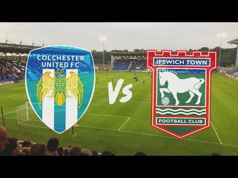 Colchester United vs Ipswich Town 19th July 2019 (MATCH DAY VLOG)