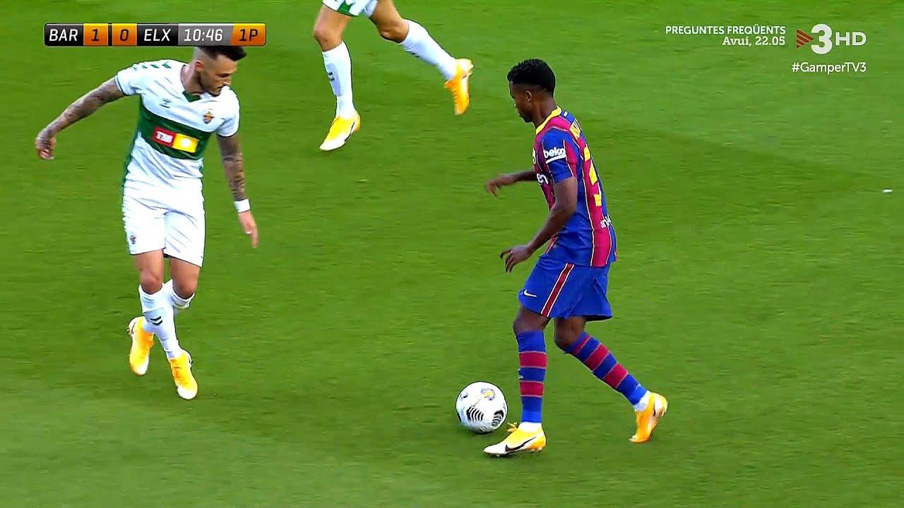 Download 17-Year-Old Ansu Fati vs Elche   19/09/2020