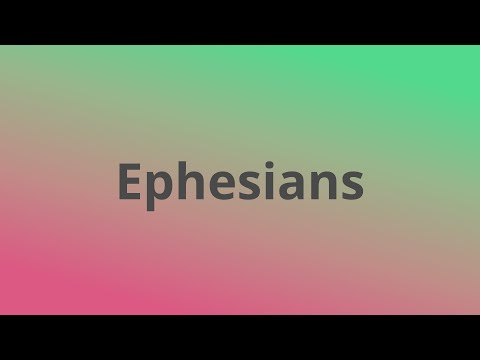Ephesians   A Wife, a Husband, & a Mystery