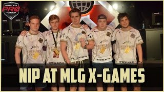 NiP at MLG X-Games 2015 | DOTA 2 LAN Movie gameplay