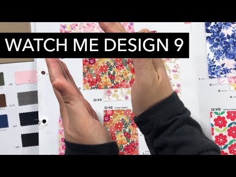 Watch Me Design 9: More Fabric Selection