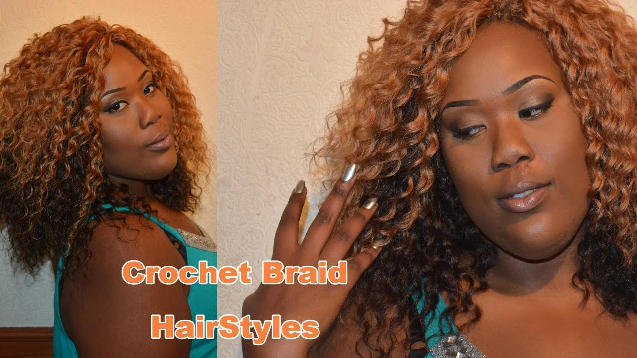 Crochet Braid Hairstyles - YouTube