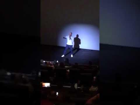 Rock at IMAX Burbank, Rampage