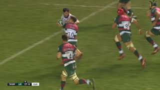 Match Highlights | Leicester Tigers v Gloucester | Gallagher Premiership, Week 12