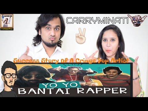 Success Story Of A Cringe Pop Artist (Censored Version) 😉 || Carryminati || Indian Reaction