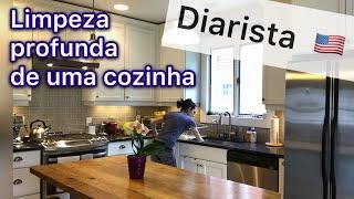 COMO LIMPAR UMA COZINHA NOS ESTADOS UNIDOS /PASSO A PASSO