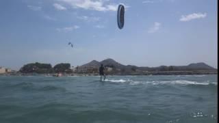 Cyrus bien edmkpollensa 2 days kite lessons learn kitesurfing Mallorca