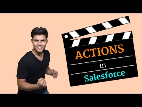 What are Actions in Salesforce?