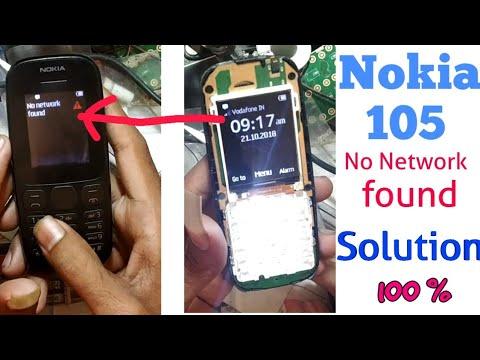 Nokia 1034 network problem