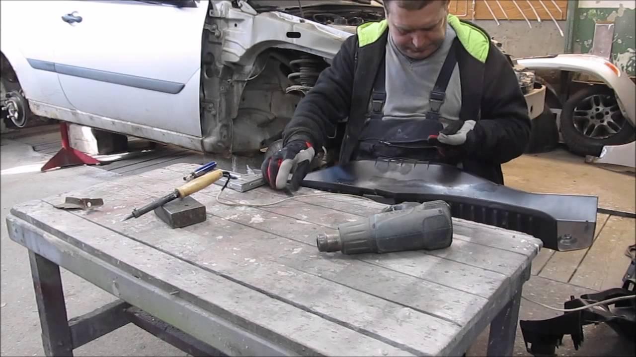 Клей для ремонта всех видов пластика, бамперов PowerPlast