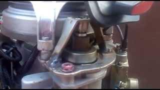 Эл.стартер от ВАЗ на лодочный мотор Нептун 23