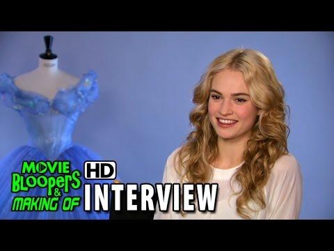 Cinderella (2015) Behind the Scenes Movie Interview - Lily James  (Cinderella)
