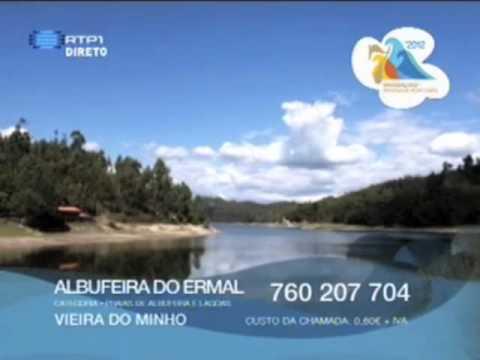 RTP1 7 Maravilhas Praias de Portugal ERMAL -  Vote em Vieira do Minho