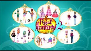 Super Girly Regal Academy Super Toys  Magical Rose, Joy and Astoria dolls