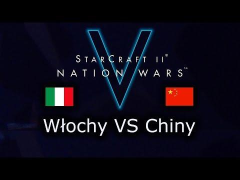 Włochy VS Chiny - Nation Wars V - Ro16 - polski komentarz StarCraft 2 Legacy of the Void