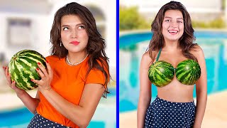 Watermelon Challenge / 17 Amazing Watermelon Ideas and Pranks