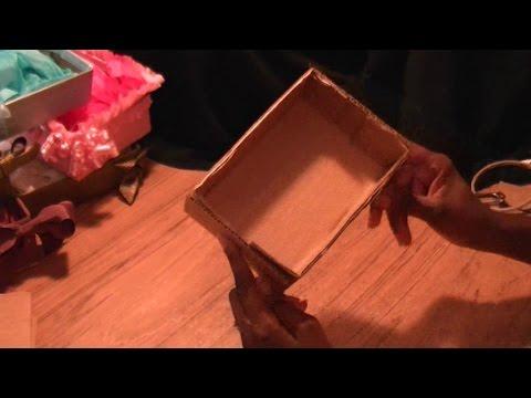 No Glue DIY Easy Cardboard Gift Box