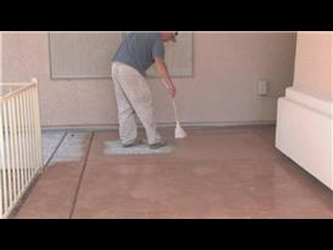 Decorative Concrete Techniques How To Color Concrete