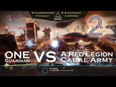 Providence Gaming - Destiny 2 - 1st Trial Gameplay - Guardian vs Cabal Red Legion Army (24.09.17)