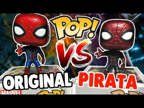 FUNKO POP Original vs Pirata ¡Así se identifican