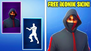 "HOW ANYONE CAN GET ""Iconic SKIN"" FOR FREE IN FORTNITE!"