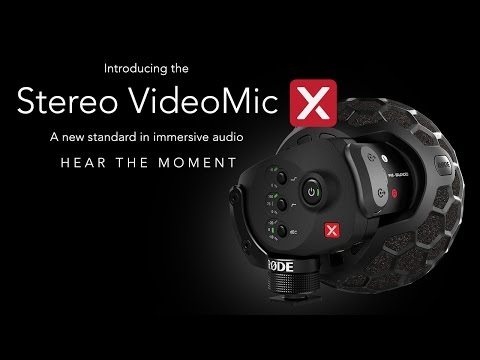 Introducing the new Stereo VideoMic X