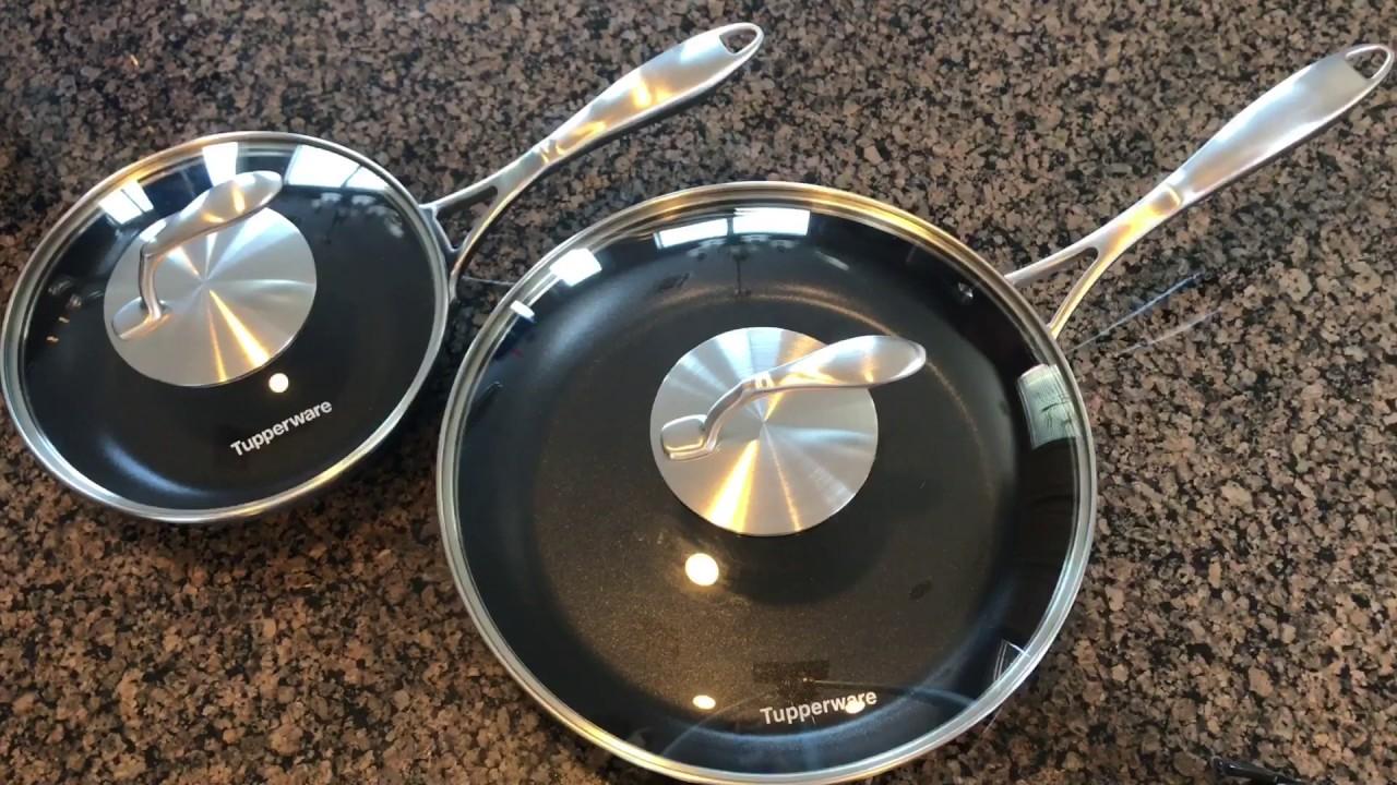 Tupperware Chef Series Ii Youtube Tchef Fry Pan Twboys Tupperwareboys