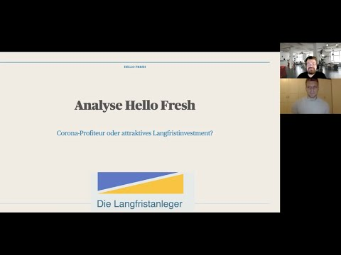 Hello Fresh SE Aktienanalyse - Corona-Profiteur oder interessantes Langfristinvestment?