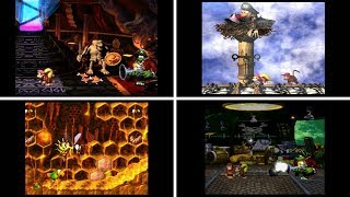 Donkey Kong Country 2 : Diddy Quest All Bosses No Damage