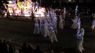Battle of Flowers Jersey Moonlight Parade 2014